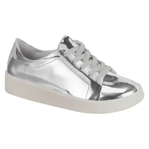 Silver Shoes for girls - Molekinha