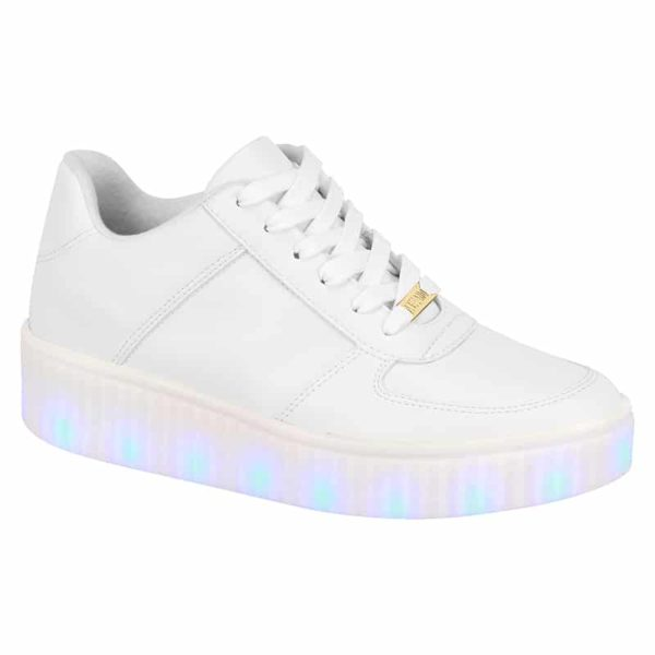 White shoes for women - Vizzano - Lights on