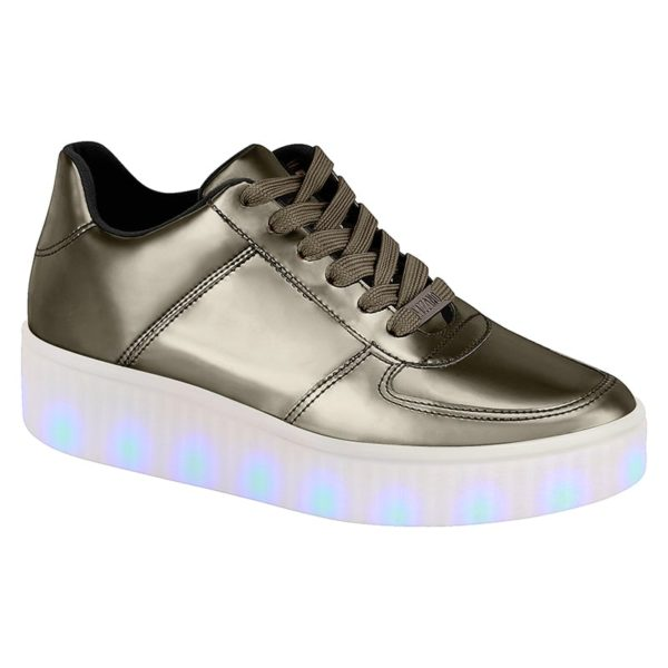 Space Grey shoes for women - Vizzano - Lights on