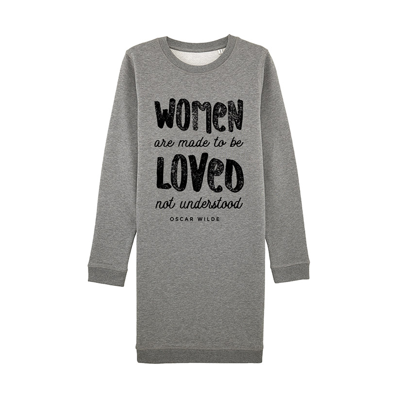 Sweatshirt Dress – Women are made to be loved 8dfc0b5d0